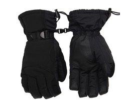 mannen Ski Handschoenen Snowboard Handschoenen Sneeuwscooter Motorrijden Winter Handschoenen Winddicht Waterdicht Sneeuw Handschoenen  HEROBIKER