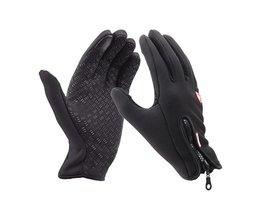 Top Selling winter sport windstopper ski handschoenen warm rijden motorhandschoenen Outdoor Volledige Vinger Winddicht Handschoenen luva Unisex MyXL