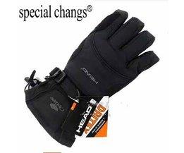 mannen ski handschoenen Snowboard handschoenen Sneeuwscooter Motorrijden winter handschoenen Winddicht Waterdicht unisex sneeuw handschoenen  buus bvillaba