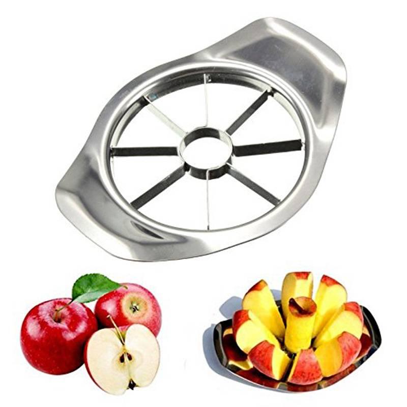 Keuken gadgets rvs apple cutter slicer groente fruit gereedschap keuken accessoires     Kitstorm
