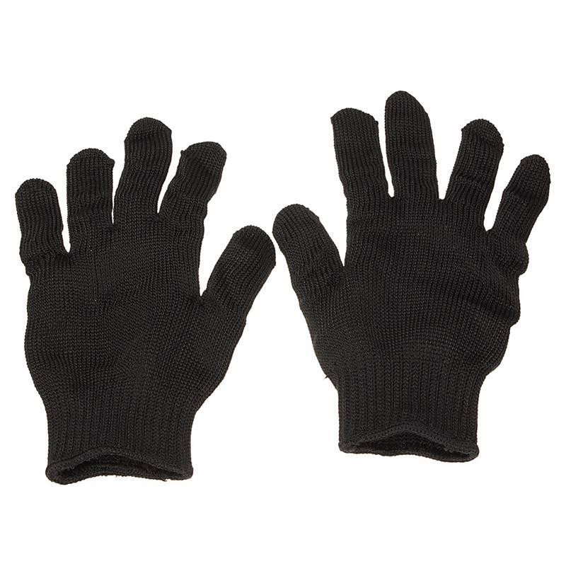 Rvs Draad Veiligheid Werk Anti-Slash Cut Statische Weerstand slijtvaste Beschermen Handschoenen Hand