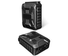 Mini Stofzuiger USB Laptop Cooler Air Extraheren Uitlaat Koelventilator CPU Koeler voor Notebook computer hardware cooling <br />  ALLOYSEED