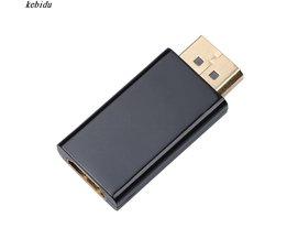 Kebidu Display Port DisplayPort DP Man HDMI Vrouwelijke Converter kabel Adapter Video Audio Connector voor HDTV PC tot 1080 p <br />  kebidu