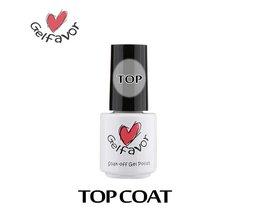 Nail Gel 7 ml Top Coat langdurige Primer Nail Art Nail Gel Polish Weken-off UV lak <br />  Gelfavor