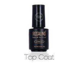 7 ML Professionele Top Coat Weken-off UV Gel langdurige Nail Art Nail Gel Polish Gel Nagellak Gel Varnish <br />  Rosalind