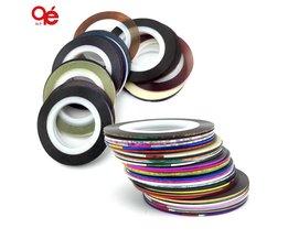 30 kleuren rolls striping tape line nail art sticker gereedschap beauty decoraties voor op nail stickers <br />  MENOW