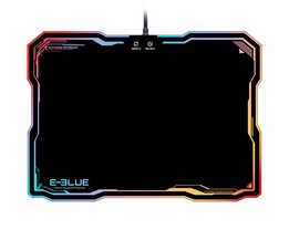 Gaming Muismat EMP013 LED Verlichting USB Bedrade Hard Verblinden Mouse Pads Kleurrijke Backlight Game Muizen Mat met Intelligente Switch <br />  docooler