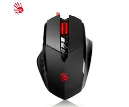 A4tech Bloody V7M 3200 DPI Gaming Muis 3D Bedrade Draak Custom 7 Keysters LOLFps Keizerschap LOL CF Dota Muis 2015koop <br />  A4TECH
