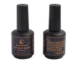 Fengshangmei matte nagellak top coat matt afwerking gel langdurige led uv matte top lak 15 ml <br />  fengshangmei