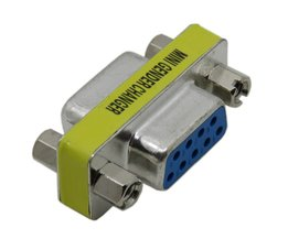 Rs232 gender changer db9 9pin vrouw-vrouw vga adapter changer adapter f-f <br />  CableDeconn