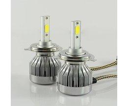 2 STKS 60 W 6000Lm LED Auto Koplamp Conversie Kit H4 hoge lage H/L Hi Lo lamp 6000 k wit Rijden mistlamp <br />  MGTV LIGHT