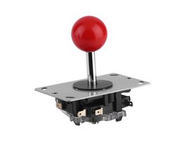 Arcade joystick DIY Joystick Rode Bal 4/8 Way Joystick Fighting Stick Onderdelen voor Game Arcade <br />  ACEHE