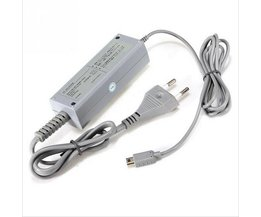 US/EU Plug 100-240 V Home Muur Voeding AC Charger Adapter voor Nintendo WiiU Wii U Gamepad Controller joypad <br />  KomoKe