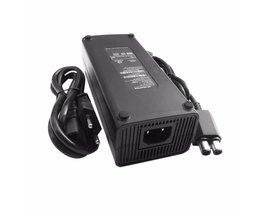 AC 100-240 V Adapter Voeding Lader EU Plug Kabel voor XBOX 360 Slim Ideaal Vervanging Charger Met LED Indicator licht <br />  Dpower