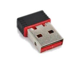 H Mini 150 Mbps USB 2.0 WiFi Wireless Adapter 150 Netwerk LAN 802.11 ngb REALTEK MT7601 fit voor Apple Macbook Pro Air <br />  kebidu