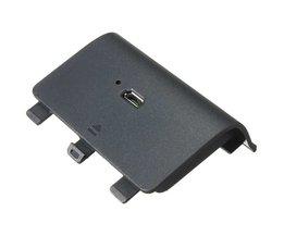 Nieuwste!Koop Beste Promotie 2400 mAh Oplaadbare Batterij + USB Kabel Voor Xbox Een Controller Opladen Kit<br />  ShirLin