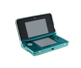 GloedCrystal Clear Hard Skin Carbonaat Plastic Case Cover Beschermhoes voor Nintendo 3DS N3DS Console <br />  ALLOYSEED