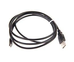 1.5 M Micro Usb-laadkabel USB 2.0 Type Een Mannelijke naar Micro B Kabel Koord voor Playstation 4 PS4 Dualshock Controller <br />  ALLOYSEED