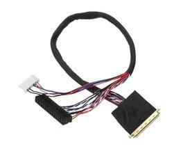 40pin LED Scherm Kabel Enkele 6 LVDS Kabel LP140WH1 LED Lcd-scherm Kabel Draad Voor Vervanging <br />  ShirLin