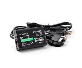 Voor PSV PSVITA AC Lader Adapter + Usb-kabel voor Sony PS Vita met kabel (EU, USA) <br />  SPAYPS