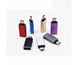 USB-C 3.1 Type C Male naar USB 3.0 Adapter Vrouw Voor MacBook OTG Functie Adapter Connector Voor DVD USB HUB Printer Mobiele Tablet  <br />  <br />  SONGFUL