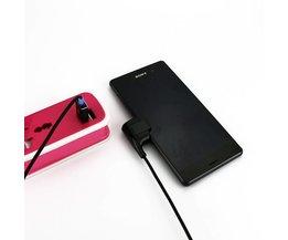 Super Sterke USB Magnetic Kabel voor Sony Xperia Z3 Z2 Z1 Opladen Adapter Oplader Kabel voor Xperia Z3 Z2 compacte Tablet <br />  Leebote