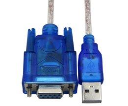 Usb Rs232 vrouwelijke kabel USB naar DB9 vrouwelijke USB seriële poort gaten 9 gaten kabel USB naar COM <br />  CableDeconn