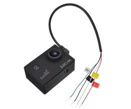 Digitale Kabels Micro USB Naar AV Out Kabel Voor SJ4000 SJ/5000/6000 Actie Camera Voor FPV Video Audio Zender Kabel AV <br />  LEORY