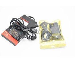 Mobiele Power bank 5 v usb-kabel ACK-E6 + DR-E6 Volledige gedecodeerd LP-E6 dummy batterij voor Canon EOS 60D 70D 80D 6D 7D 5D Mark II III 5DSr <br />  VITESUN