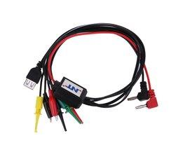4 in 1 Multifunctionele Mobiele Telefoon Reparatie USB DC Verstelbare Power Kabel Telefoon Test Instrument Kabels <br />  ALLOYSEED