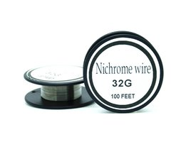 Nichrome draad 32 gauge 100 ft 0.2mm cantal weerstand weerstand awg diy verneveling core <br />  Ayunhao