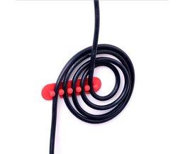 2 Stks/set Kabelhaspel Voor Kantoor Computer Muis Usb-kabel Organizer Beheer Draad Opslag Apparaat Plug Houder Organizer <br />  KEITHNICO