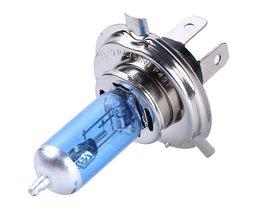 2x Auto Halogeen Xenon Gloeilamp Hoge Dimlicht H4 12 V 60/55 W P43T 9003 Super Xenon Wit 6000 K Koplamp Lamp  <br />  FISHBERG