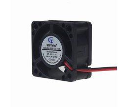 Gdstime 5 Stuks/partij 24 V 40 MM 4 CM 40*40*20mm 4020 DC CPU Borstelloze Cooling Cooler Fan <br />  gdstime