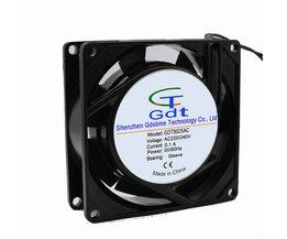 Gdstime 220 V 240 V 8 cm 8025 80mm 80mm x 25mm Koeler PC Computer AC Cooling Fan Voor Laptop <br />  gdstime