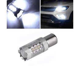 Autolichten 1x Super Heldere Witte 80 W LED SMD 1156 Ba15s S25 P21W Backup Gloeilamp auto styling<br />  ICOCO