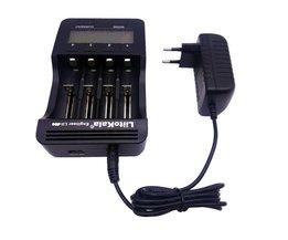 Liitokala lii-500 LCD 3.7 V/1.2 V AA/AAA/18650/26650/16340/14500/10440/18500 Acculader met scherm + 12V2A adapter Lii-500 <br />  liitokala