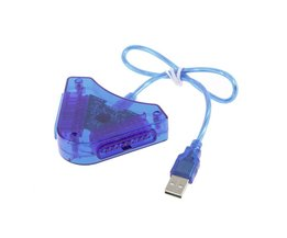1 stks Joypad Game Controller PC USB Converter Adapter Voor PS2 Playstation 2Wereldwijd <br />  ONLENY