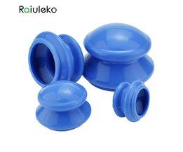 4 stks Natuurlijke Siliconen Cupping Therapie Set Gezondheidszorg Kleine Body Anti Cellulite Vacuüm Siliconen Massager Cupping Cups <br />  Raiuleko