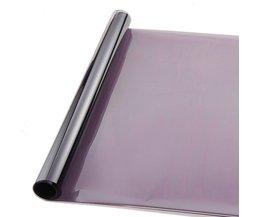 AuMoHall 0.5*3 m Lichtgrijs uv + isolatie Autoruit Tint Film VLT 50% 2 ply Solar Bescherming Film <br />  AUMOHALL