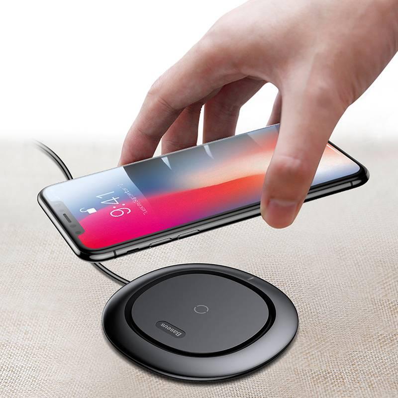 Universele Draadloze Telefoon Oplader voor Samsung en iPhone