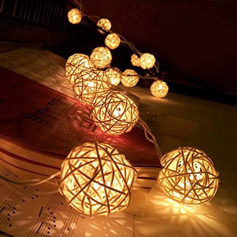 Kerstballen met verlichting 35 Stuks