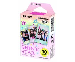 Fujifilm Instax mini Film Shiny Star 10 pak
