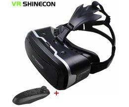 Vr  ii 2.0 helm virtual reality bril mobiele telefoon 3d video movie voor 4.7-6.0 &quot;telefoon + afstandsbediening <br />  shinecon