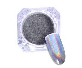 GEBOREN PRETTY 0.5g 1 Doos Shiny Laser Poeder Nail Art Holografische Glitter Eenhoorn Poeder Nail Glitter Hologram Rainbow Pigmenten <br />  Born Pretty