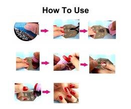 3 Stks/partij Plastic Nail Art Stempelen Platen Clear Stamper Nail Stempelplaten Manicure Sjabloon Nail Gereedschap Manicure 10 Patronen <br />  klimonla