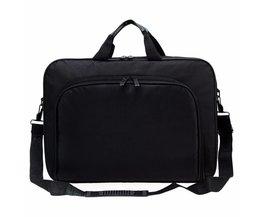 Draagbare Zakelijke Handtas Schouder Laptop Notebook Bag Case Multifunctionele mannen vrouwen Duurzaam <br />  OXA