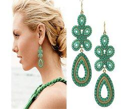 Wing Yuk Tak OorbellenOntwerp Sieraden Mode Klassieke Elegante Bohemian Dangle Oorbellen Voor Vrouwen Accessoires Groothandel <br />  wing yuk tak