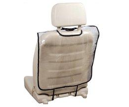 Plastic Auto auto Seat Protector Back Cover Backseat voor Kinderen Baby Kids Kick Mat Beschermt Tegen Modder Vuil Schoon Transparant <br />  VODOOL