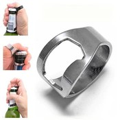 Koop 2 StksGroothandelPopulaire Creatieve Rvs Vinger Ring Ring-Vorm Beer Flesopener <br />  LNRRABC